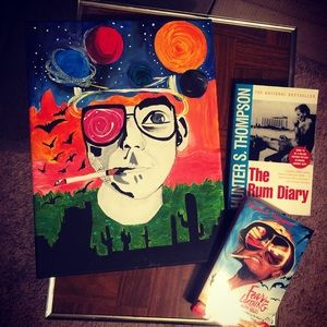 Other - Original Hunter S Thompson painting